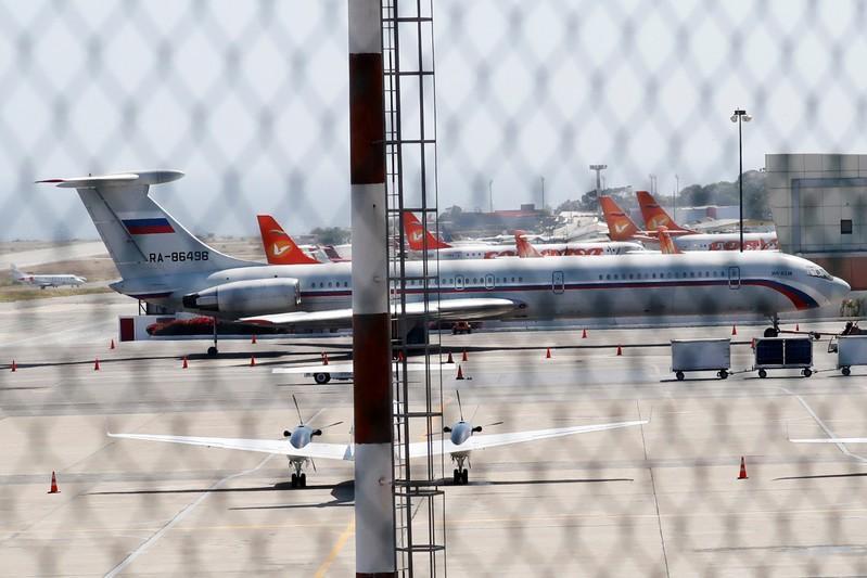 Dos aviones militares rusos aterrizan en Venezuela