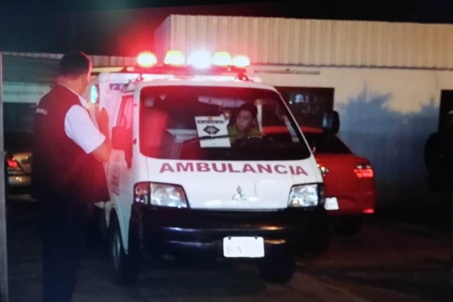 ambulancia niña TF