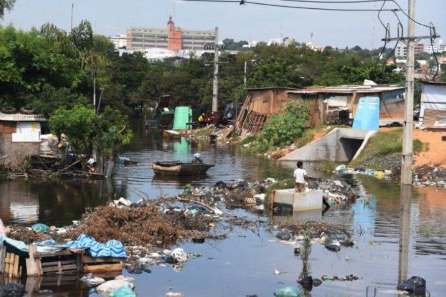 Contaminado. La Costanera Norte no acabó con la inundación ni la polución ambiental ÚH