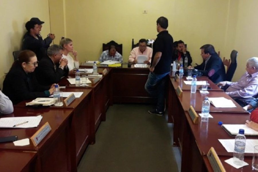 ediles rechazan ejecución presupuestaria de la ciudad de Coronel Oviedo ÚH
