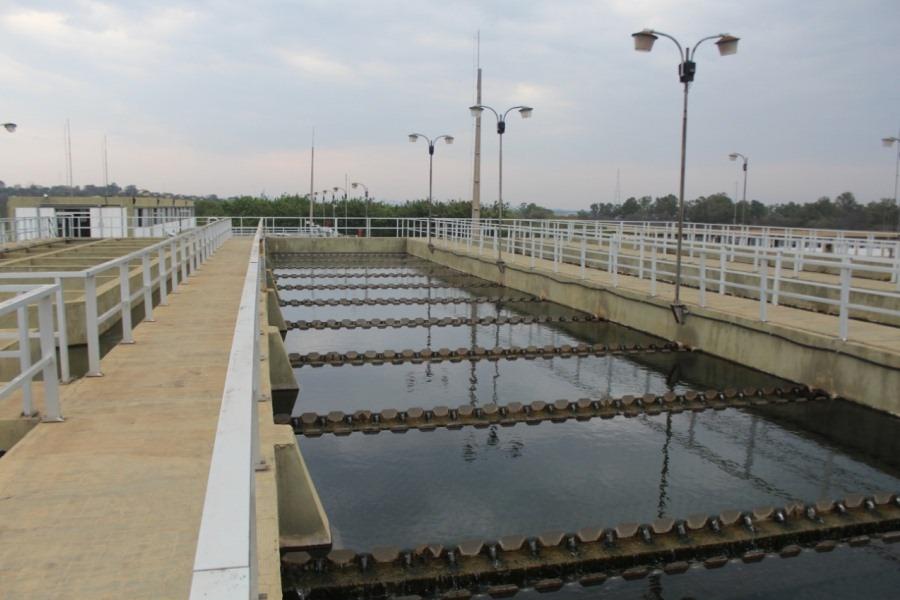 planta de tratamiento de agua potable ESSAP
