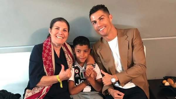 Redes sociales destacan blooper de la mamá de Cristiano Ronaldo