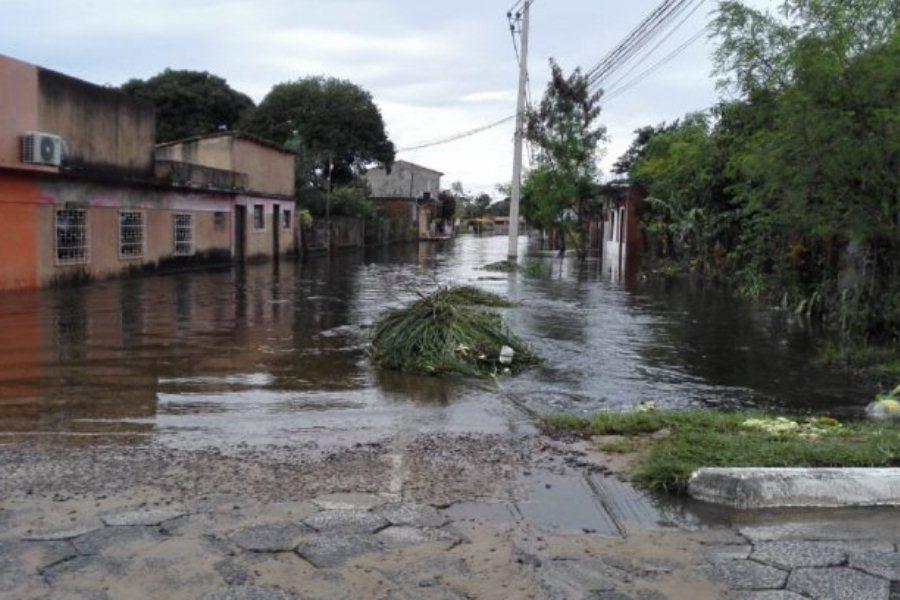 En la ciudad de Pilar urge la construcción de una defensa costera ÚH