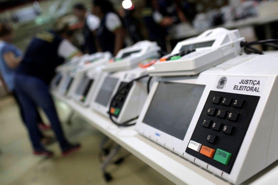 Urna electrónica voto electrónico EXAME ABRIL BR 00