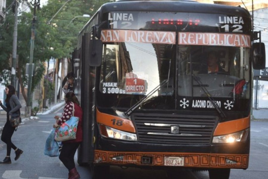 transporte público pasaje ÚH
