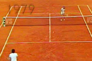 final bjorn pecci ROLAND GARROS 1979
