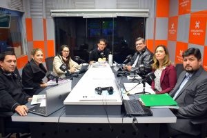 Berta Cardozo, Vanessa Vargas y Luis Miranda Ministerio de Justicia fondos provenientes de la Corte la lupa 27 06 2019