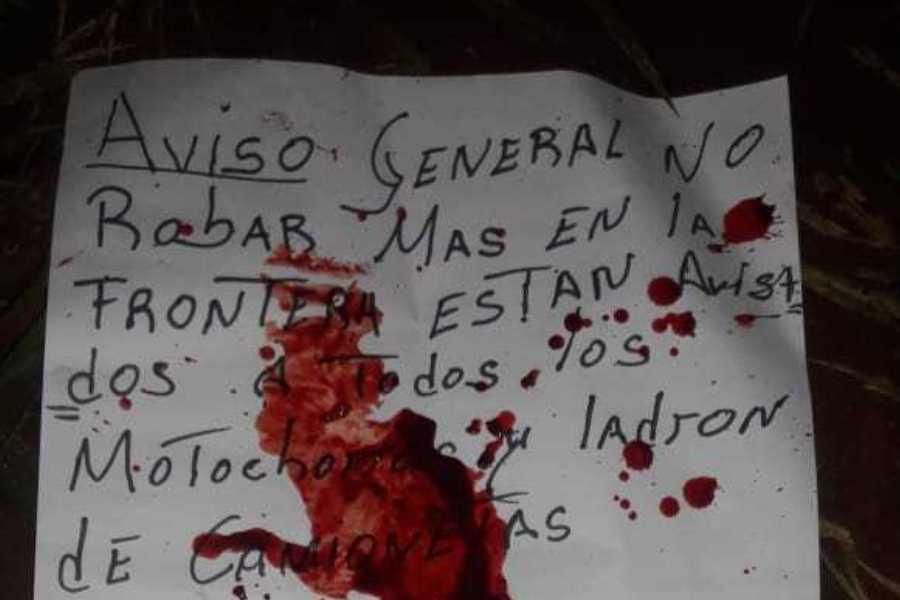 nota justicieros de la frontera capitanbadonews