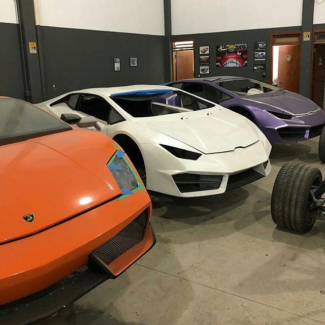 Descubren en Brasil una fábrica que falsificaba Ferraris y Lamborghinis