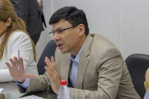 Walter Enrique Harms En la Comision de Asuntos Constitucionales de la Camara de Diputados TW WH