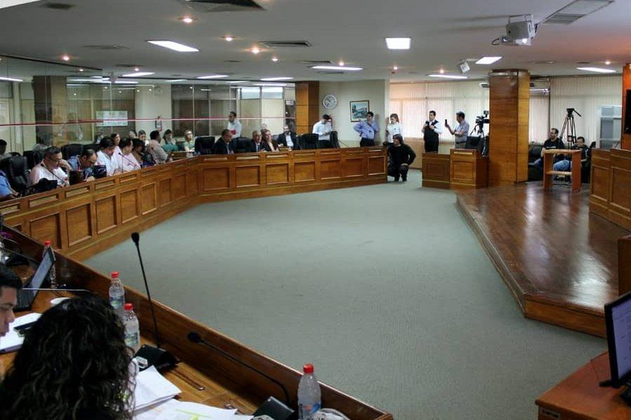 junta municipal de asuncion sesion 22 de julio 2019
