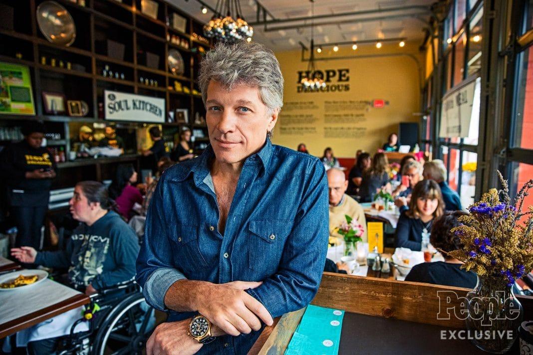 Los precios no existen en los restaurantes de Bon Jovi