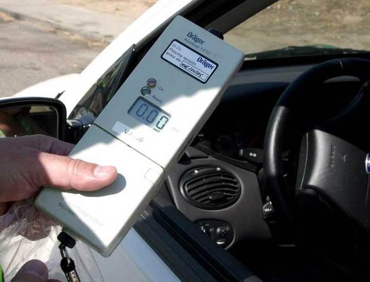 Control-de-alcoholemia alcohol al volante