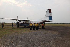 comite de control incendio bahia negra FB Bomberos Voluntarios Concepción