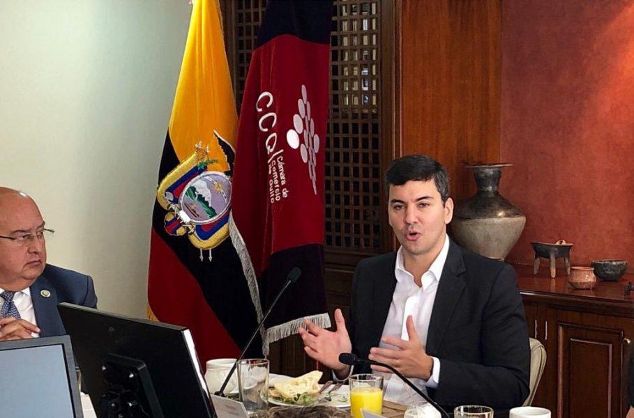 Santiago Peña habla de un mayor optimismo respecto a la recuperación económica