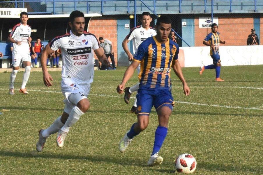 Luqueño 1 - Nacional 1. Fecha 6 Clausura 2019
