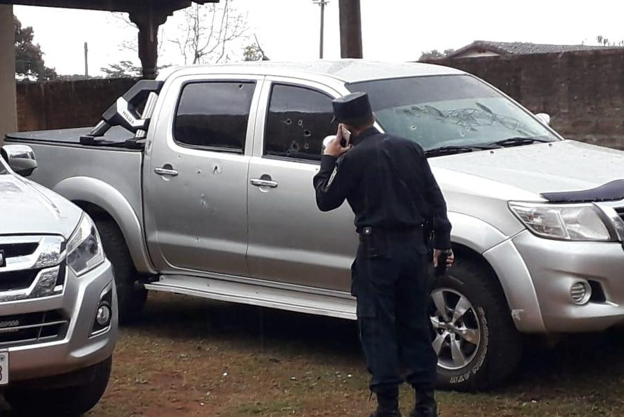 vehiculos atacados cncejales caazapa GENT