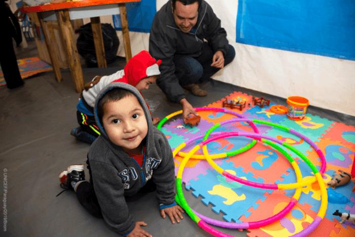 UNICEF busca promover programas que ayuden a los niños en sus primeros años de vida