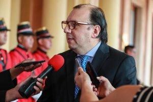 Carlos florentin nuevo presidente del Banco Nacional de Fomento bnf TW PRESID
