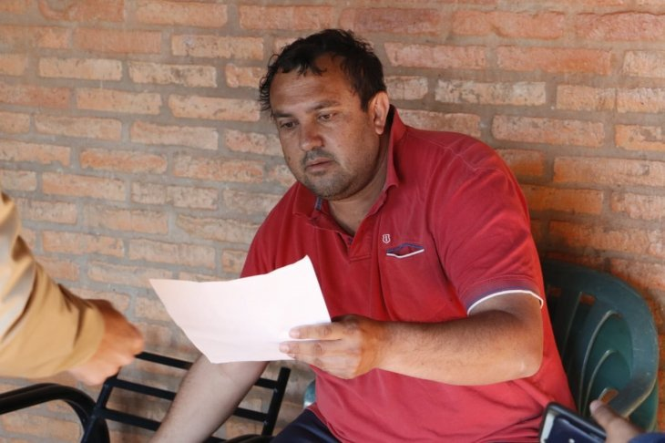 Hernan Adolar Schlender intendente Jesus Tavarangue