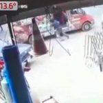 asalto faltal en luque dinero banco trabajador joven NPY