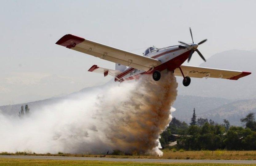 avionetas para combatir incendios forestales LA NACION CL