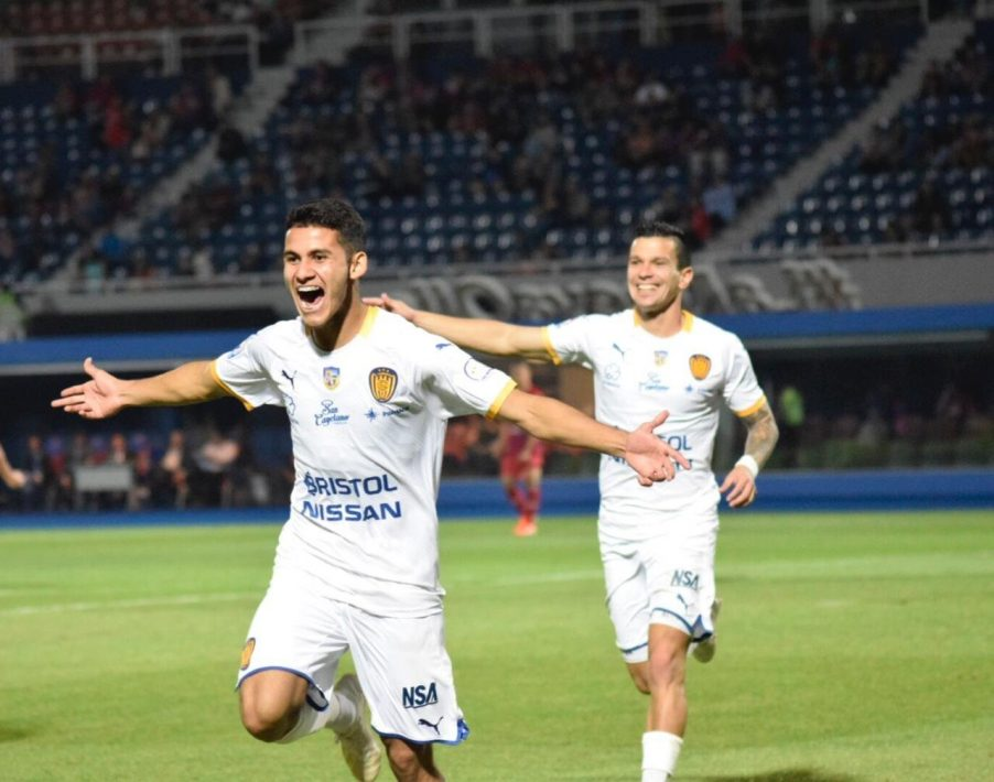 Cerro Porteño 1 - Luqueño 2. Fecha 10 Clausura 2019