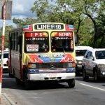 bus unidad colectivo empresa de transporte 29 de Setiembre linea 18 UH