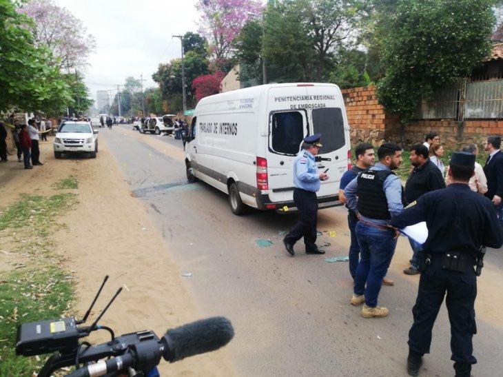 policia comisario muerto tras el rescate del jefe del Comando Vermelho, Jorge Samudio UH