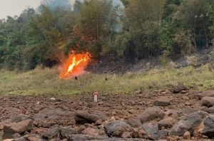 incendio zona boscosa parana country club GENT