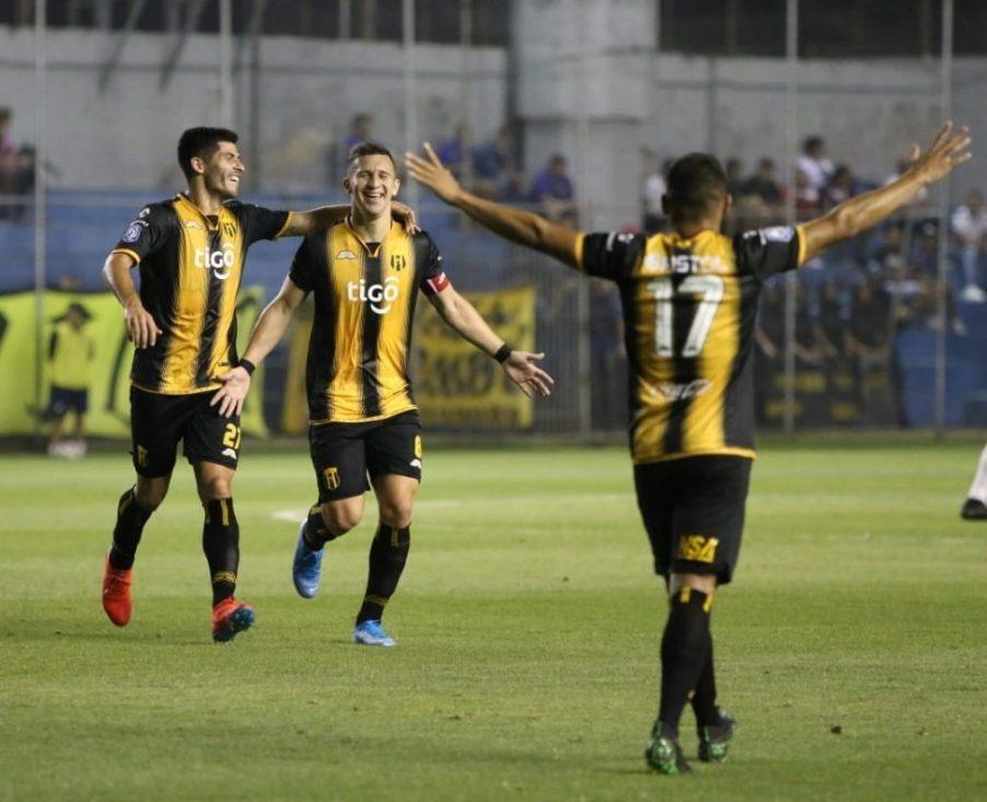 Nacional 0 - Guaraní 2. Fecha 11 Clausura 2019