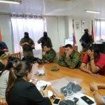operativo dignidad policías detenidos junto a los fiscales intervinientes UH