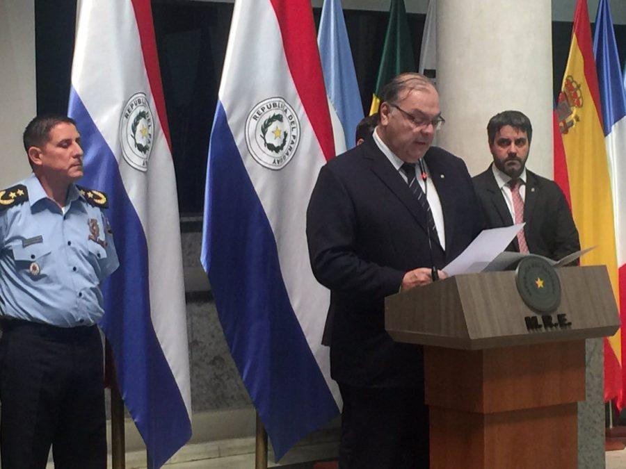 cancilleria lamenta falta dce cooperacion de uruguay tema refugio arrom colman y marti MRE TW