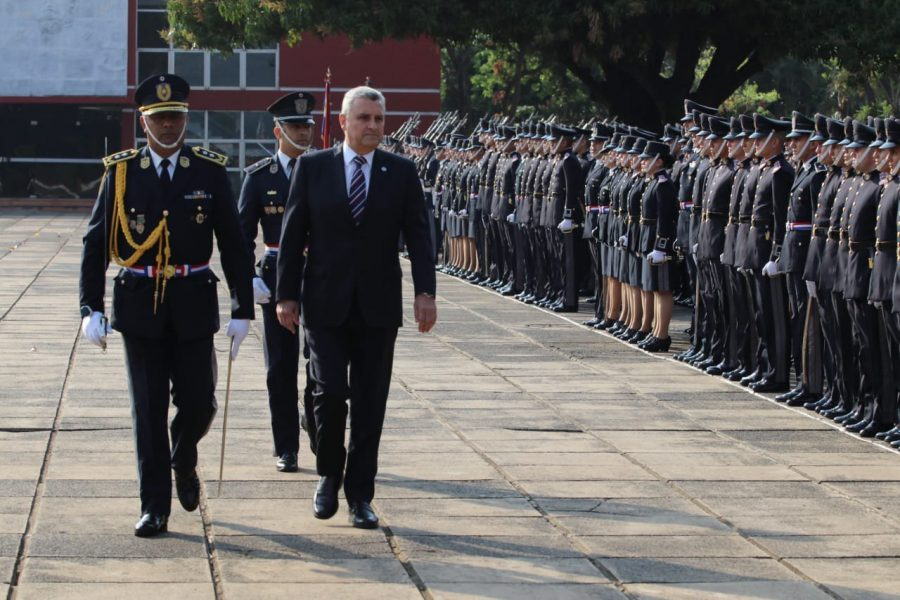 juan ernesto villamayor policia nacional INT TW