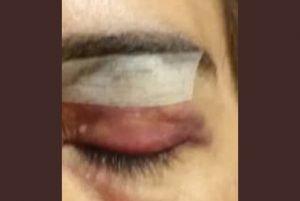 mujer agredida brutalmente por guardias de una empresa