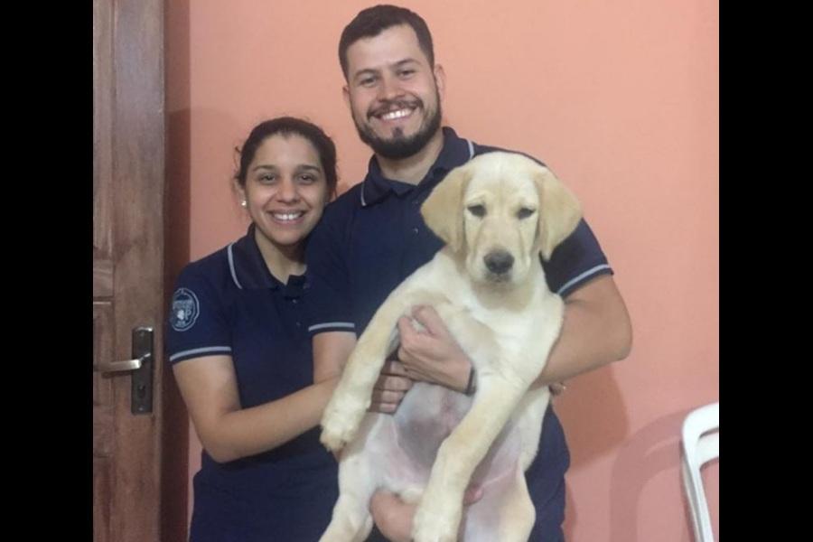 retrato de familia con perro FB
