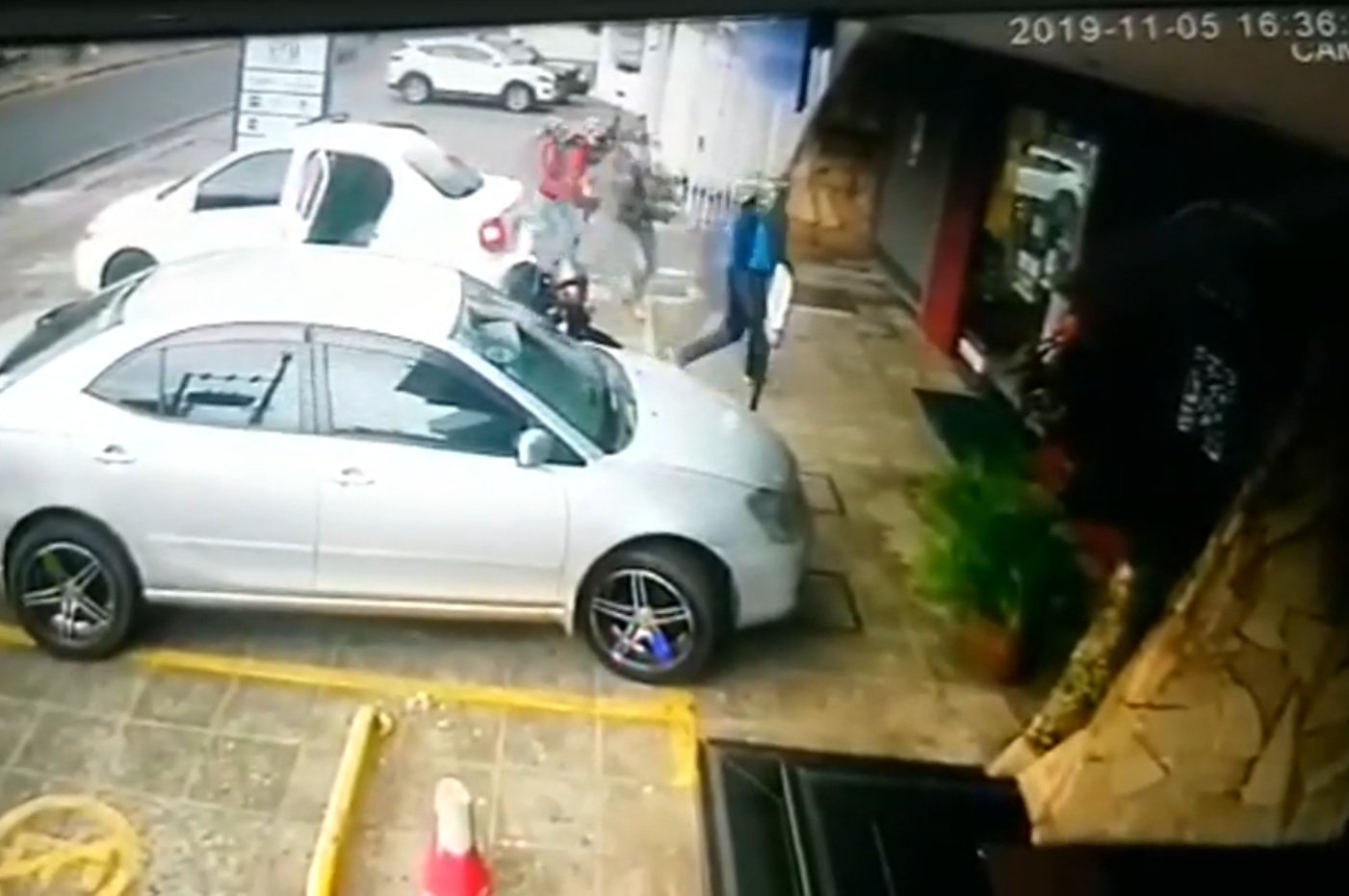 asalto fatal en local de cobranzas Fernando de la Mora PRINT VIDEO