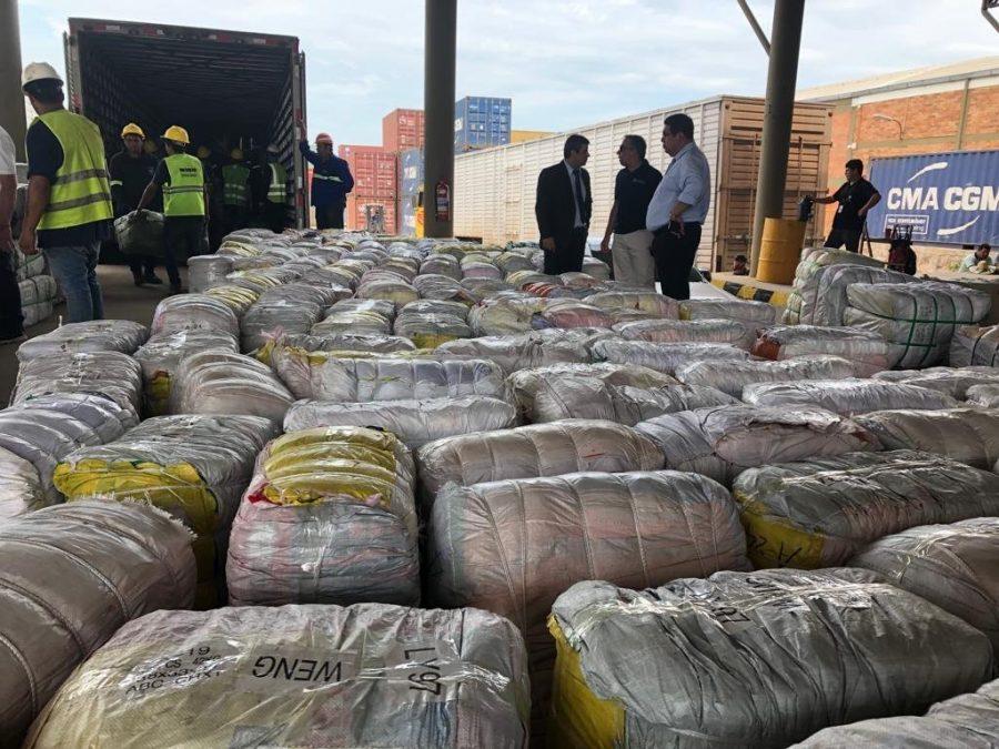 cargas ilegales de valor millonario fueron decomisadas en Puerto Seguro GENT00