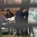 cuerpo de Estela Noemi Avalo llevado a la morgue DIARIO UH