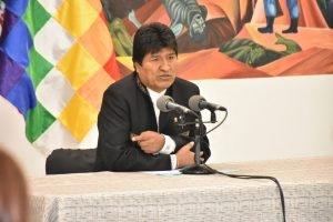 evo morales TW MinPresidencia BOLIVIA