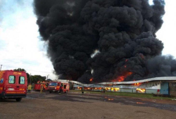 incendio tras caida de helicoptero de la fuerza aerea DIARIO UH