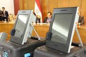 maquina de votacion voto electronico Smartmatic TSJE TW