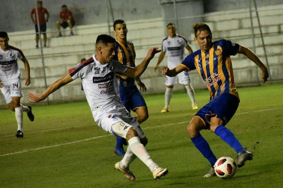 Nacional 1 - Luqueño 1. Fecha 17 Clausura 2019
