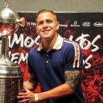 robert piris da motta campeon de la libertadores con Flamengo TW FLA