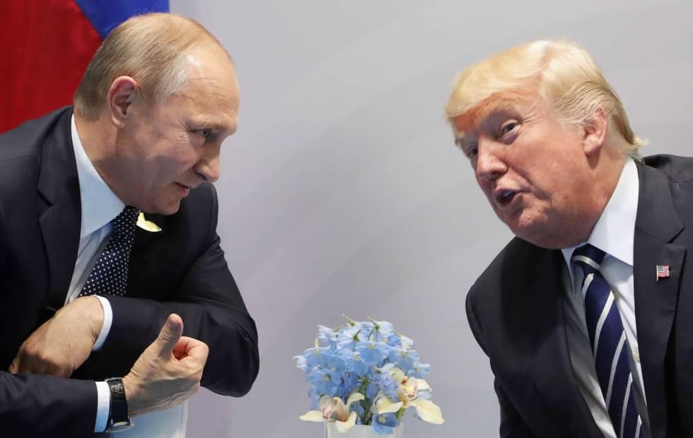 """Putin asegura que Trump fue llevado a juicio político por """"razones inventadas"""""""