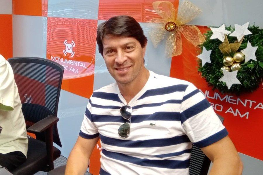 Daniel Garnero DT de Olimpia en AM 1080