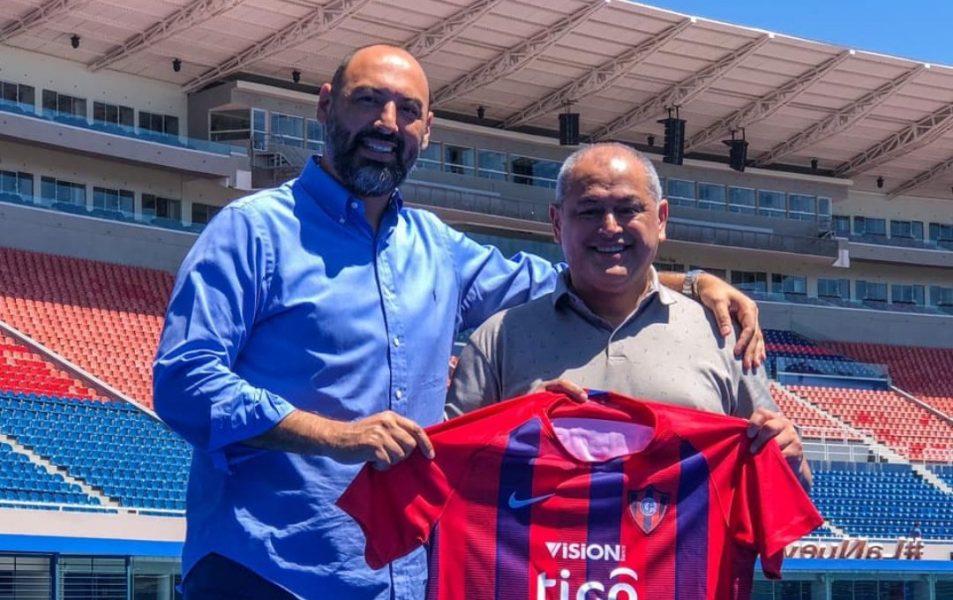 Francisco Chiqui Arce y Raul Zapag Cerro Porteño Prensa