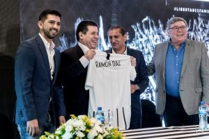 ramon diaz horacio cartes CLUB LIBERTAD TW