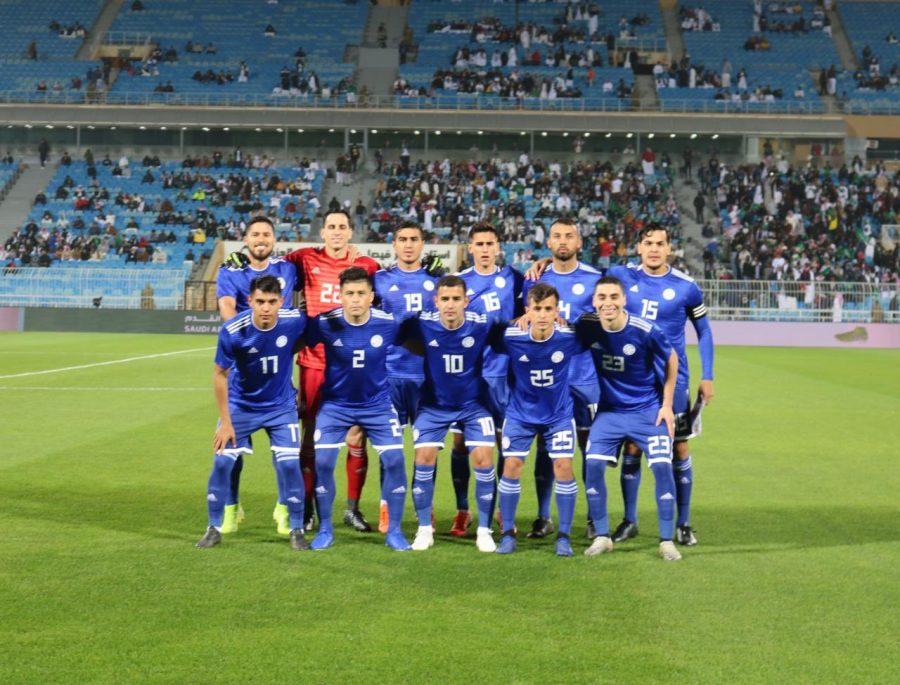seleccion paraguaya amistoso vs arabia noviembre 2019 TW ALBIRROJA