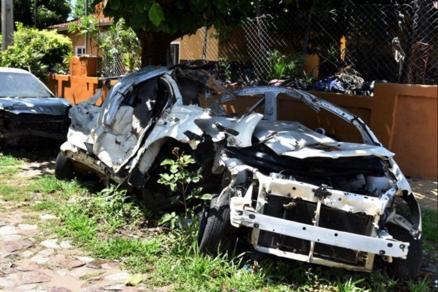 vehículos automotores rodados chatarras inservibles en calles adyacentes a las comisarias DIARIO UH